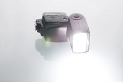 kamera flash Fotografia Stock