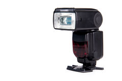 Kamera grelles Speedlight Stockbilder