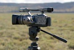 Kamera im Freien stockbild