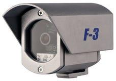 kamera isolerad övervakningvideo Arkivbilder