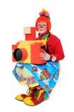 kamera klauna zabawka Zdjęcia Stock