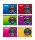 kamera kolor Obraz Stock
