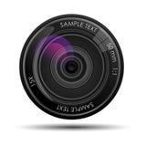 Kamera lense stock abbildung