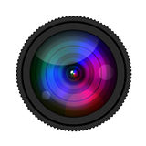 Kamera Lense ilustracji
