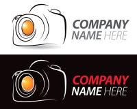 Kamera logo Zdjęcia Royalty Free