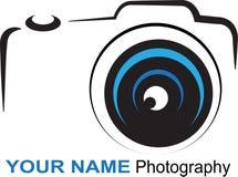 Kamera logo - kolorowa ilustracja Obrazy Stock