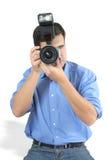 kamera mężczyzna Obrazy Stock