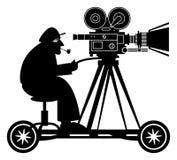 Kamera mężczyzna ilustracja wektor