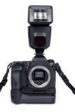 Kamera mit Blinken Stockbild