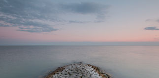 Kamera: Nikon F-301, AIS 28/2 Stockbild