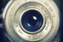 kamera obiektyw retro Zdjęcia Royalty Free