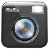 Kamera obiektywu ikona ilustracji