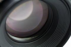 Kamera obiektywu zakończenie Zdjęcia Royalty Free