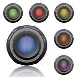 kamera obiektywy Zdjęcie Stock
