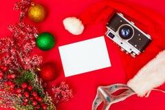 Kamera och foto arkivbild