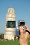 kamera pisa Arkivbild