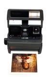kamera polaroid Obrazy Stock