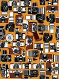 kamera retro ilustracja wektor