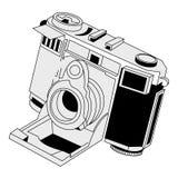 kamera rocznik ilustracja wektor