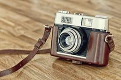 kamera rocznik Zdjęcia Royalty Free