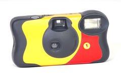 kamera rozporządzalna Zdjęcie Stock
