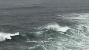 Kamera ruch Z ocean fala Łama Depoe zatoki Oregon zbiory