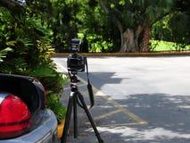 Kamera, samochód & x28; horizontal& x29; Fotografia Stock