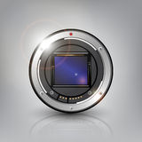 Kamera-Sensor-Hintergrund stock abbildung