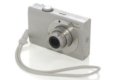 kamera som fäster white för digital bana ihop Fotografering för Bildbyråer