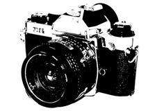kamera stara royalty ilustracja
