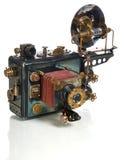 Kamera steampunk Lizenzfreies Stockfoto