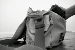 Kamera-Tasche F Lizenzfreie Stockfotografie