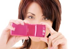 kamera telefon Obrazy Stock