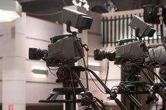 Kamera telewizyjna Fotografia Royalty Free