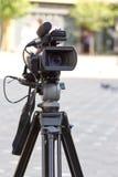 kamera tv Fotografia Stock
