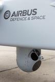 Kamera UAV Stockbild