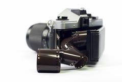 Kamera und Film Lizenzfreie Stockfotos