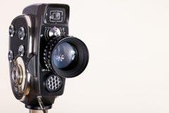 Kamera und Objektiv Lizenzfreies Stockbild