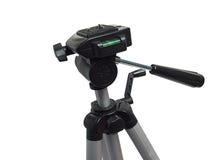 kamera över tripodwhite Royaltyfri Bild