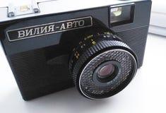 Kamera 'Vilia automatisk ', royaltyfria bilder