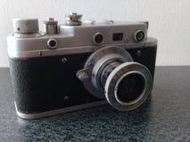 Kamera Weinlese Zorki S stockbilder
