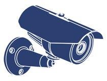 Kamera wideo inwigilacja, Ilustracja Wektor