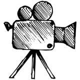 Kamera wideo wektor ilustracja wektor