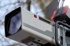 kamera wyemitowana Zdjęcie Stock