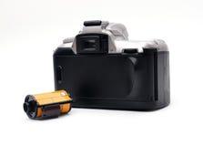 Kamera z 35 mm filmem Fotografia Stock