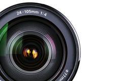 kamera zbliżenie soczewek Zdjęcia Royalty Free