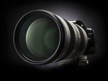 kamera zoom Obraz Stock