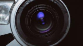 Kamera zoom Brać a w górę kamera wideo, wzrastający skalę lub zmniejszający, zbiory
