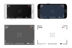 Kameraansichtsucher lizenzfreies stockbild