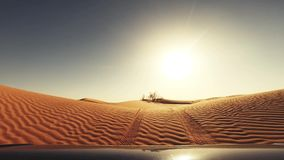 Kameraauto im Sahara-Wüstenfahrer pov stock video footage